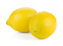 2 зрелых лимона Стоковая Фотография RF