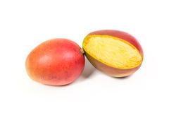 2 зрелых манго Стоковое Фото
