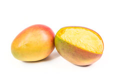 2 зрелых манго Стоковое фото RF