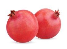 2 зрелых плодоовощ гранатового дерева Стоковое фото RF