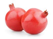 2 зрелых плодоовощ гранатового дерева Стоковые Изображения RF