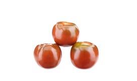 3 зрелых томата Стоковое Изображение RF
