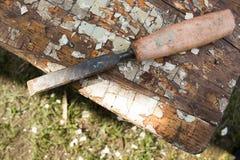 зубило старое Стоковые Изображения RF
