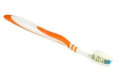 зубная паста зубной щетки Стоковое фото RF