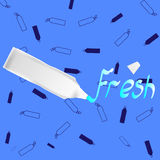 Зубная паста Стоковое фото RF