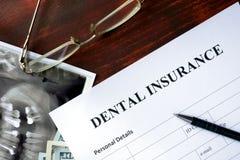 Зубная страховка стоковое изображение