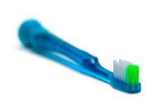 Зубная щетка голубого зеленого цвета Стоковое Изображение RF
