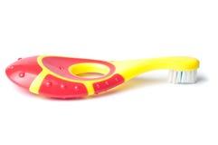 зубная щетка младенца Стоковые Фотографии RF