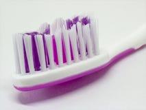 Зубная щетка для зубоврачебной гигиены зубов на белой предпосылке Стоковые Изображения