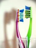 зубная щетка стоковое изображение rf