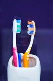 3 зубной щетки Стоковые Изображения RF