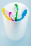зубные щетки держателя Стоковое Изображение RF
