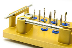зубоврачебная аппаратура implantology Стоковые Изображения RF