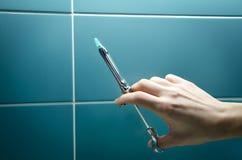 Зубоврачебная впрыска 3 наркотизации Стоковые Изображения RF