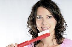 зубоврачебная гигиена Стоковое Фото