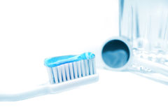 зубоврачебная гигиена Стоковые Фотографии RF