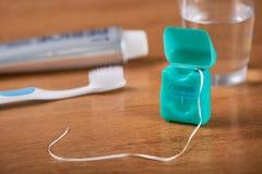 Зубоврачебная зубочистка стоковая фотография rf
