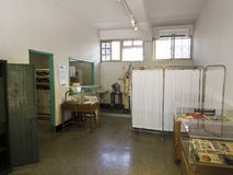Зубоврачебная комната в правах человека Jing-Mei мемориальных и культурном парке Стоковое Изображение