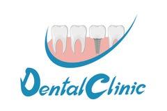 Зубоврачебная литерность клиники Стоковые Изображения