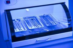 Зубоврачебная предпосылка: работа в клинике Стоковая Фотография
