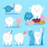 Зубоврачебная принципиальная схема здоровья Стоковые Изображения RF