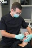зубоврачебная терпеливейшая практика Стоковая Фотография RF