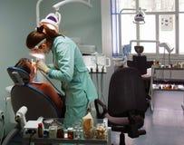 зубоврачебная хирургия офиса Стоковая Фотография