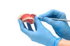 зубоврачебные аппаратуры стоковое фото rf