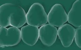Зубоврачебный логотип с предпосылкой стоковое изображение rf