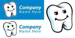Зубоврачебный логотип зуба Стоковое фото RF