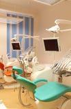 Зубоврачебный офис клиники с оборудованием Стоковая Фотография RF