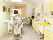 зубоврачебный самомоднейший офис стоковая фотография rf