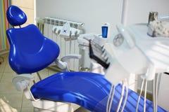 Зубоврачебный стул Стоковая Фотография RF