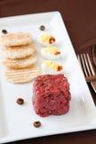 зубробизон ontario tartare стоковые фото