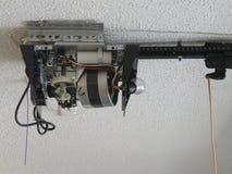 Зубчатая передача мотора консервооткрывателя двери гаража Стоковое Изображение RF