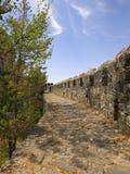 зубчатая стена Стоковые Фото