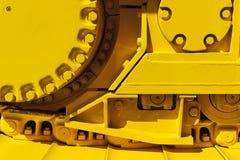 Зубчатое колесо привода бульдозера Стоковые Фотографии RF