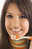 зубы внимательности Стоковые Изображения RF