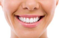 Зубы женщины Стоковые Фотографии RF