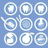 Зубы значков здоровые Стоковое фото RF