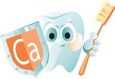 зубы предохранения надежные иллюстрация штока