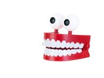 зубы тараторить Стоковые Фото