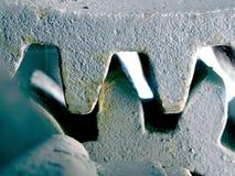 зубы шестерни цепляя Стоковые Фото