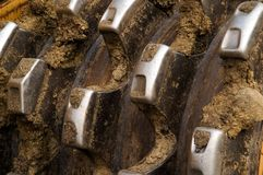 зубы compactor Стоковая Фотография RF