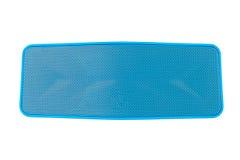 Зуб голубого громкоговорителя голубой - изолированный на белой предпосылке Стоковое Изображение