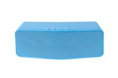 Зуб голубого громкоговорителя голубой - изолированный на белой предпосылке Стоковое Изображение RF