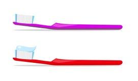 зуб пар щеток Стоковые Изображения RF