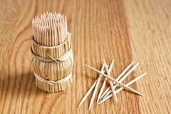 зуб таблицы выборов деревянный Стоковые Изображения RF