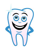 зуб шаржа Стоковая Фотография