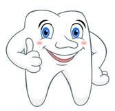 Зуб шаржа Стоковое фото RF